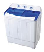 110V,60Hz home use top loading twin tub washing machine