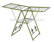 Alunium clothes drying racks / plastic clotheshorse / High Quality clothes horses