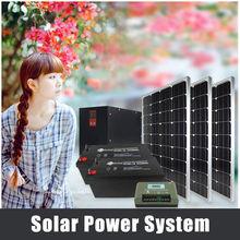 solar panel installation for solar power system