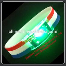 Shenzhen Supplier Custom Led Bracelet Manufacturer Custom Led Bracelet