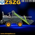 électrique à bas prix mini chargeuse sur pneus matériel agricole