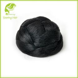 cheap synthetic hair buns