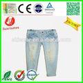 novo estilo de moda jeans impressão por sublimação de fábrica