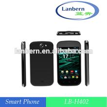 OEM ODM wholesale alibaba 4GB ROM 1GHz dual camera mtk6572 android 4.2 mobile phone 4g 3g cdma gsm dual sim mobile phone LB-H402