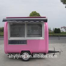 shanghai YiYing YY-FR220Hfood cart of Swiss Beef Steak /food truck/food van