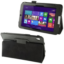 Crazy Horse Texture Horizontal Leather Flip PU Case Cover for Iconia W3-810