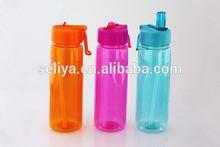 Popular decorativo único de botellas para agua