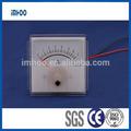 amp analógico medidor de painel atual 60x60 painel amperímetro medidor