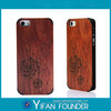 Wooden luxury cell phone cases for iPhone 5