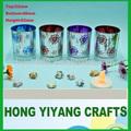 de vidrio tallado de flores taza taza de té titular de la vela de navidad titular de la candelita