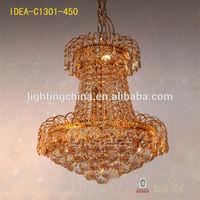 crystal lamp chandelier light 2014 old design zhongshan light red stonepujiang modern crystal pendant light
