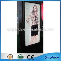 outdoor aluminum scrolling advertising light frame
