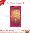 High quality PU leather phone case cover for Xiaomi Hongmi M1