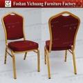 Hecho a mano de la reproducción de antigüedades de aluminio sillas de comedor en ventas al por mayor 2014 yc-zl22-54
