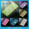 Luxury Diamond PU Wallet & Stand Leather Phone Cases For LG E400/ Optimus L3