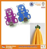 self-adhesive removable metal free animal po hooks