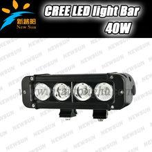 "40W 8"" LED Off Road Light Bar c ree Indicators Work Driving Offroad led bar for Car J eep Truck 4x4 SUV ATV Fog Spot Flood 12V"