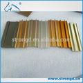 alta qualidade de usinagem cnc de cortina de alumínio protótipo com anodização de serviço