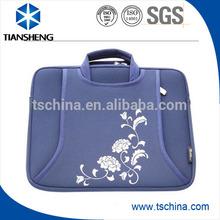 High quality portable neoprene computer bag with zipper