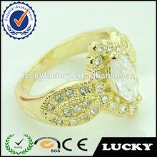 Wedding stone hot new design women gold finger ring rings
