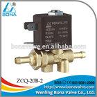 cam lock valve