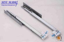 3 Fold Drawer Slides Undermount Soft Close, Concealed Soft Closing Slides