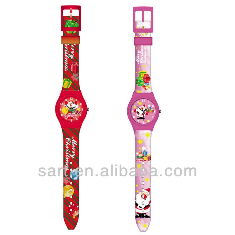 พีวีซีแฟชั่นน่ารักเด็กนาฬิกาควอท2014
