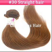 top quality human 100% virgin brazilian hair straight