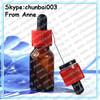 FDA regulation requirement childproof tamper cap eliquid amber euro glass bottles 15ml
