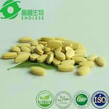 Glutathione tablet whitening skin supplements with vitamin C