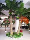 SJH082003 artificial coconut palm tree decorative metal palm trees indoor home decorative artificial tree