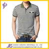 China Manufacturer Custom Men's Polo T Shirts Yarn Dyed Stripe Polo Shirts In Bulk