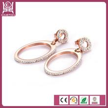 Dangle earring gold jhumka earrings design with price