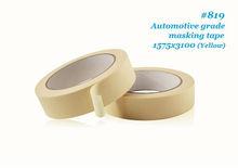 #819 hi-temp Automotive Masking tape crepe paper tape jumbo roll