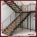Ferro forjado decorativo ferro forjado decorativo interior trilhos da escada / corrimão demose