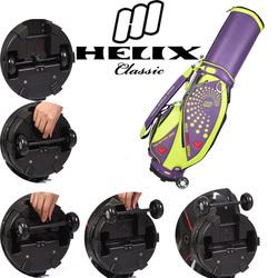 Helix Unique Top Quality PU Leather Golf Staff Bag