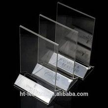 Popular most popular restaurant acrylic rotating menu holder