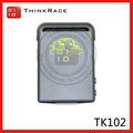 Mini dispositivo de rastreamento para pessoal/veículo rastreador gps tk102 tk102 para pessoas e animais de estimação tk102 thinkrace