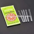 laranja agulhas para máquinas de costura de agulha