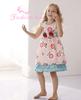 Flower sleeveless dress ball gowns for children new model dress