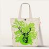 High quality custom fashion 10oz cotton canvas tote bag