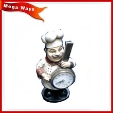 Resin decorations master chef kitchen decorations chef