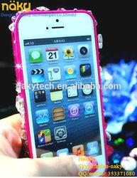 New arrival diamond rhinestone case for iphone 5 wholesale