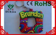 2014 new product digital photo frame acrylic key chain