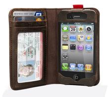 tpa7133 popular flip iphone 6 phone case genuine leather wallet mobile phone case