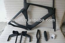 free shipping china super light 700c carbon tt frame set for time trial bike