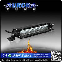 AURORA 6inch off road single row led light atv led headlights