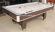 Luxo mesa de air hockey design clássico