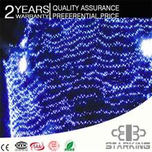 AA battery working Led Holiday Flashing fiber optic light curtain
