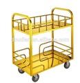 Stainlees aço carrinho para transporte de mercadorias/alimentos carrinho de transporte